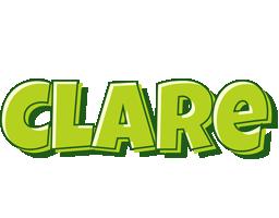 Clare summer logo