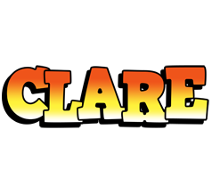 Clare sunset logo