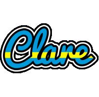 Clare sweden logo