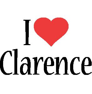 Clarence i-love logo