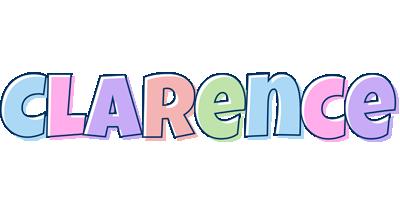 Clarence pastel logo