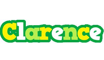 Clarence soccer logo