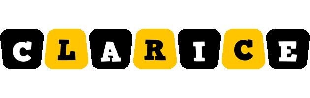 Clarice boots logo