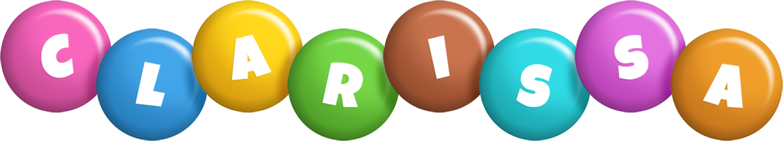 Clarissa candy logo