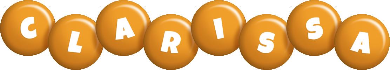 Clarissa candy-orange logo