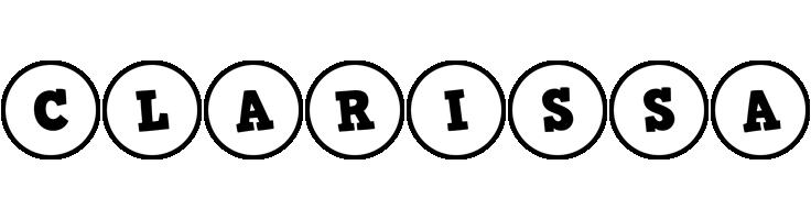 Clarissa handy logo