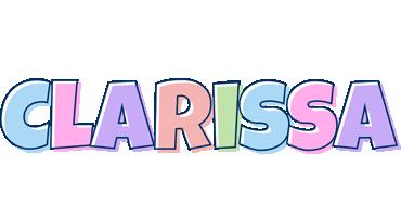 Clarissa pastel logo
