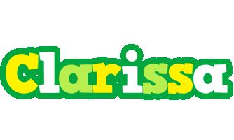 Clarissa soccer logo