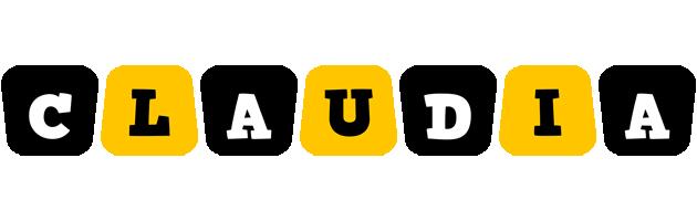 Claudia boots logo