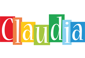 Claudia colors logo