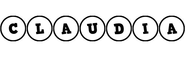 Claudia handy logo