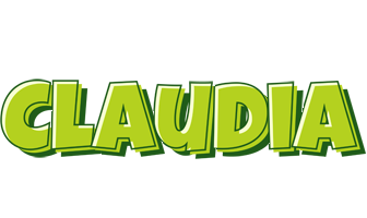 Claudia summer logo