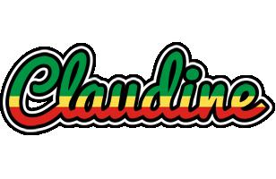 Claudine african logo