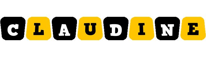 Claudine boots logo