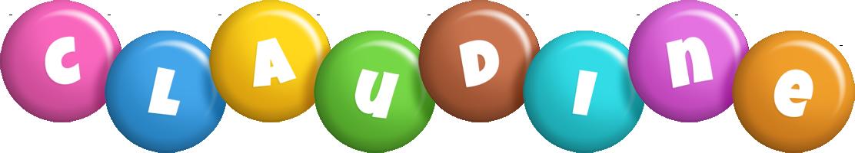Claudine candy logo