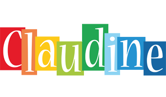 Claudine colors logo