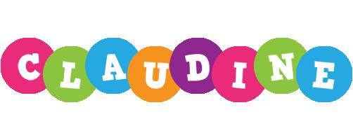 Claudine friends logo