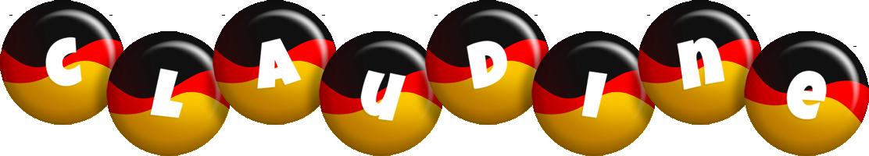 Claudine german logo