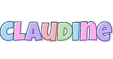 Claudine pastel logo