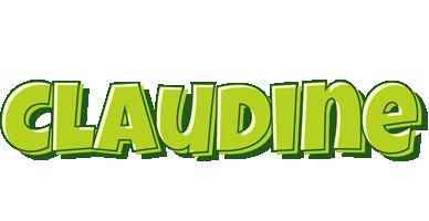 Claudine summer logo