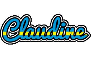 Claudine sweden logo
