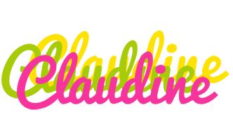 Claudine sweets logo