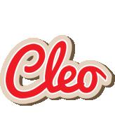 Cleo chocolate logo
