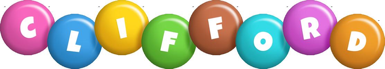 Clifford candy logo