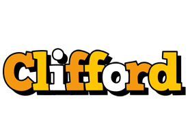 Clifford cartoon logo