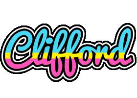 Clifford circus logo