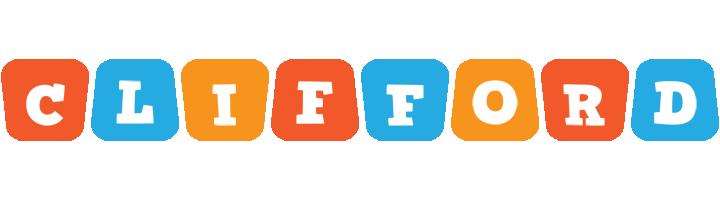Clifford comics logo