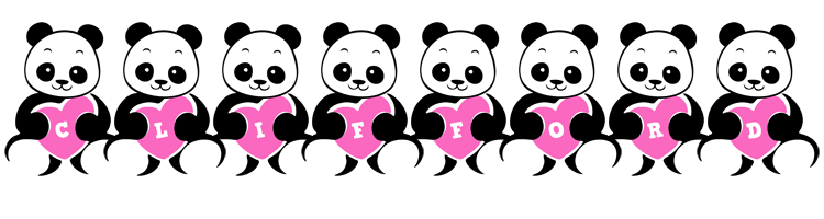 Clifford love-panda logo