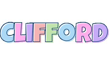 Clifford pastel logo