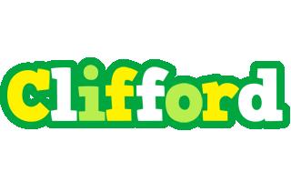 Clifford soccer logo
