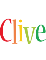 Clive birthday logo