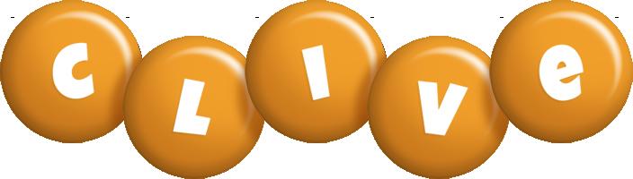Clive candy-orange logo