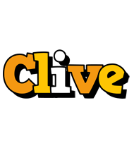 Clive cartoon logo