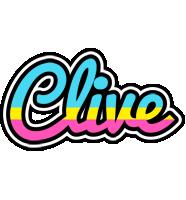 Clive circus logo