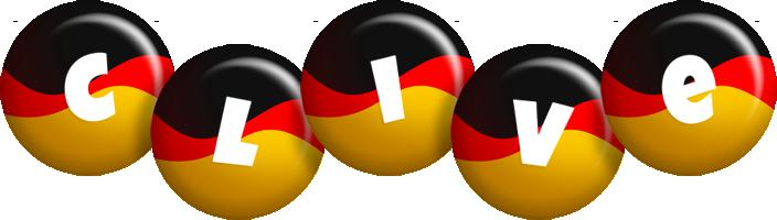 Clive german logo