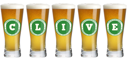 Clive lager logo