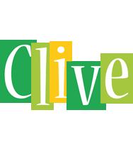 Clive lemonade logo