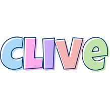 Clive pastel logo