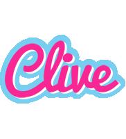 Clive popstar logo