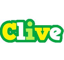 Clive soccer logo