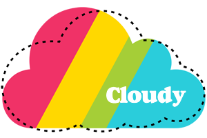 CLOUDY logo effect. Colorful text effects in various flavors. Customize your own text here: https://www.textGiraffe.com/logos/cloudy/