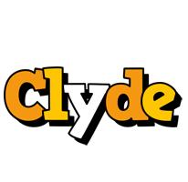 Clyde cartoon logo