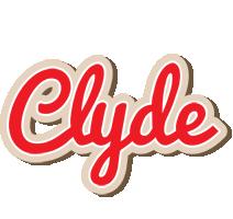 Clyde chocolate logo