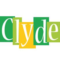 Clyde lemonade logo
