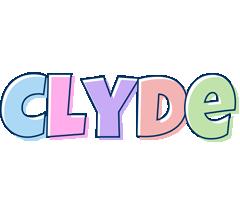 Clyde pastel logo