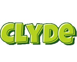 Clyde summer logo